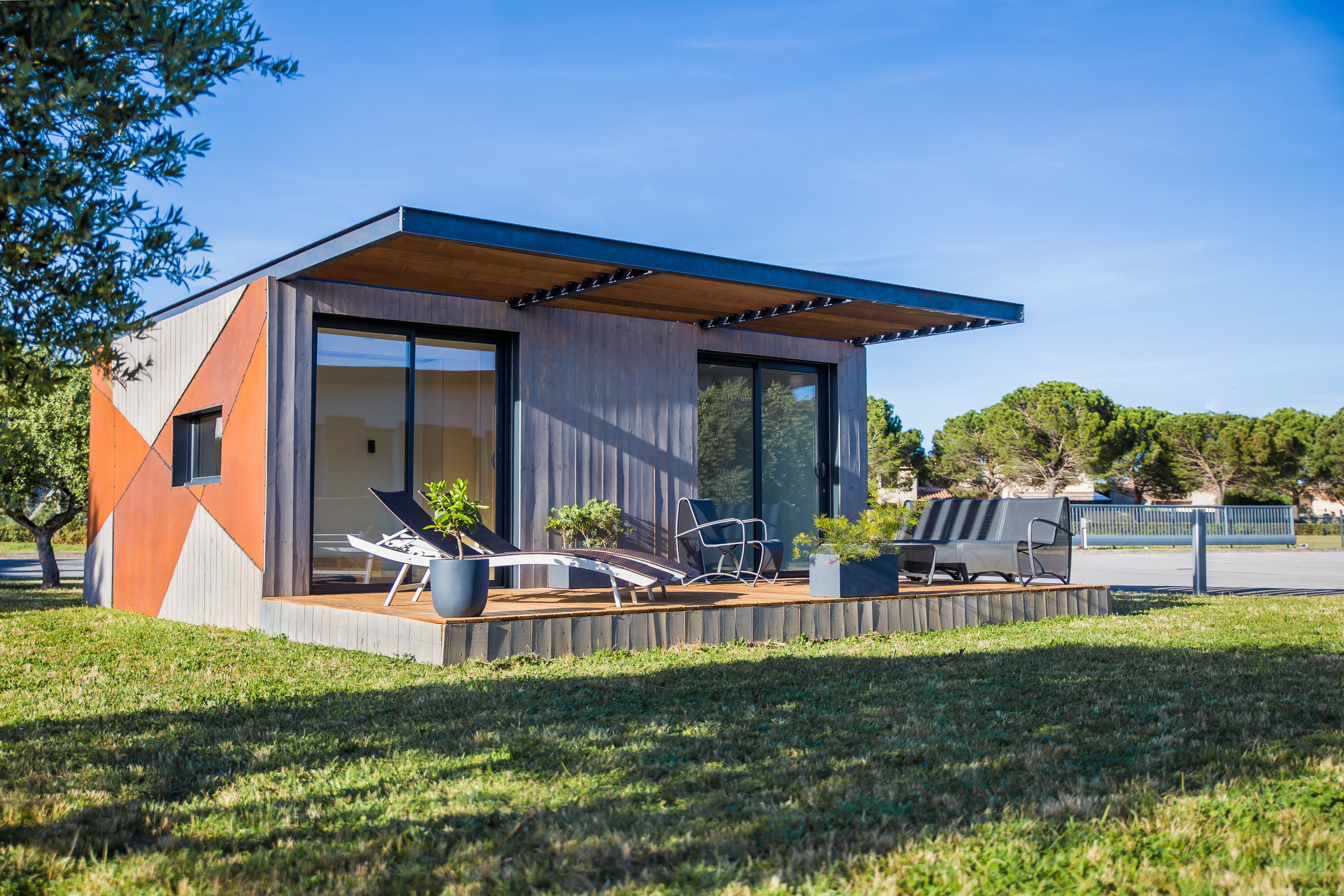 Habitation pré-fabriquée